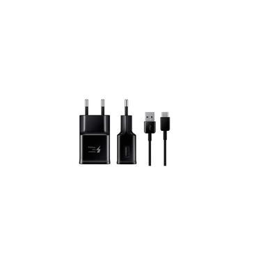 Carregador Adaptive Fast Charging Preto para Samsung Galaxy A7 2017 EP-TA20BBB Original