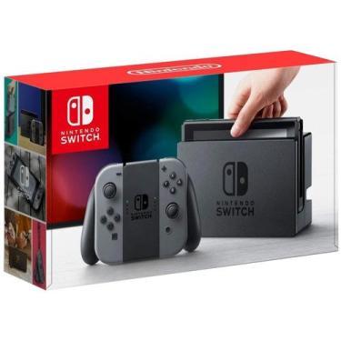 Nintendo Switch 32GB 1 Controle Joy-Con - Cinza