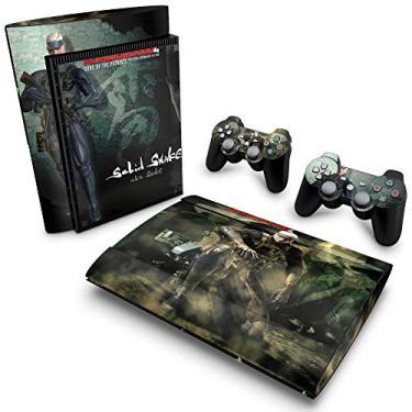 Skin Adesivo para PS3 Super Slim - Metal Gear Solid 4