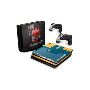 Skin Adesivo para PS4 Pro - Cyberpunk 2077 Bundle