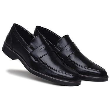 Sapato Oxford Social Masculino Casual Mocassim Sem Cadarço Bertelli - Ref.: 45.000 (37)