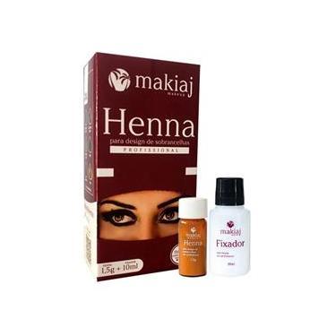 Imagem de Henna Para Sobrancelhas Ruivo 1,5G Makiaj