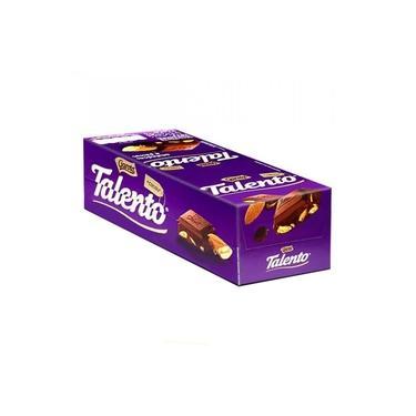 Chocolate Mini Talento Roxo Amêndoas 15X25g - Garoto