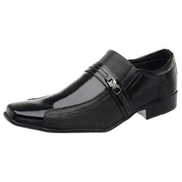Sapato Social Masculino SLZ 1041 Preto (40)