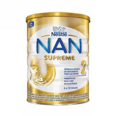 Leite Nan Supreme 2 Acima 6 Meses 800g NESTLÉ