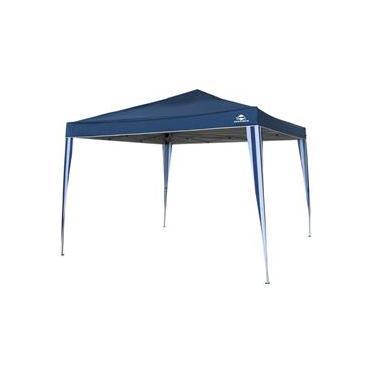 Tenda Gazebo Articulado Dobrável 3mx3m Pratiko Azul Guepardo