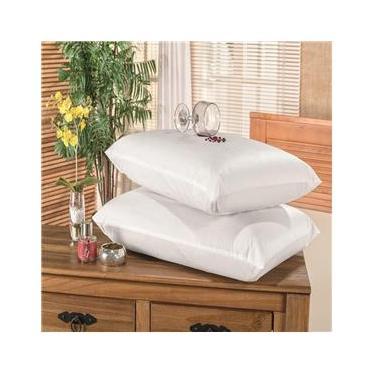 Imagem de Protetor Capa Travesseiro Impermeável 2 Peças