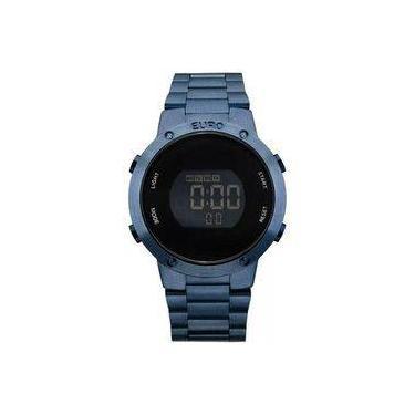 242d813d46eef Relógio Euro Feminino Fashion Fit Azul Digital