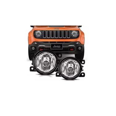 Farol De Milha Original Vidro Jeep Renegade 2016 2017