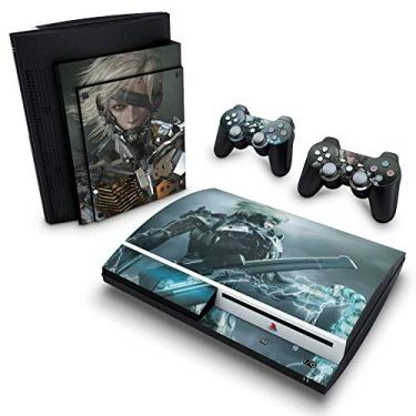 Skin Adesivo para PS3 Fat - Metal Gear Solid Rising