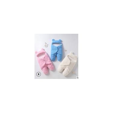 Nascido Lactente Bebé Cobertor Saco de Dormir Fotografia Rapazes Raparigas Swaddle Saco de Dormir Branco S