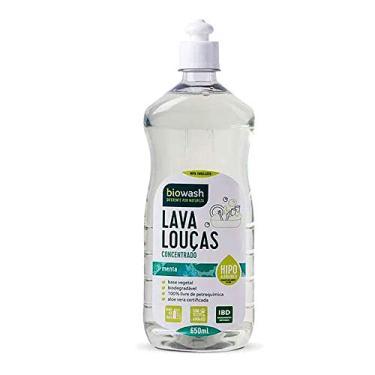 Bw Lava Louças Hipolargenico Menta 650 Ml, Biowash