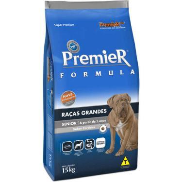 Ração Premier Pet Formula Cães Sênior Raças Grandes - 15 Kg