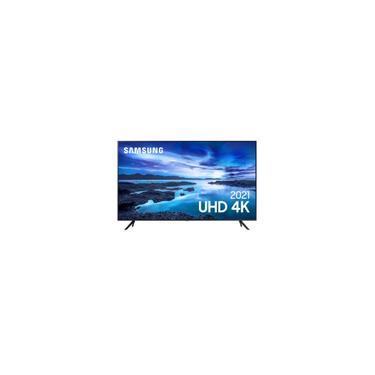 Imagem de Smart Tv LED 60 Polegadas 60AU7700 uhd Bluetooth Processador Crystal 4K Alexa Samsung