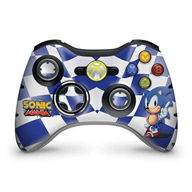 Skin Adesivo Para Xbox 360 Controle - Sonic The Hedgehog