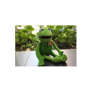 Imagem de Kako Muppets Baby Show De Pelúcia Kermit Sapo 42 Cm Caco