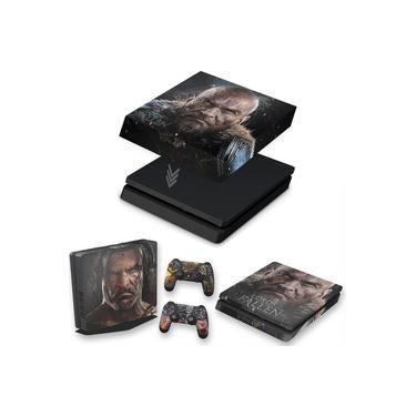 Capa Anti Poeira e Skin para PS4 Slim - Lords Of The Fallen