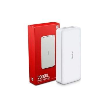 Carregador Portátil Mi Power Bank Xiaomi Redmi 20000 Mah
