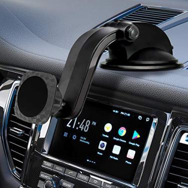 Suporte de Telefone Para Carro, Marnana Magnético Suporte de Telefone Para Carro Rotação de 360 Graus com Poderosa Base de Ventosa, Suporte de Telefone Universal Para Painel de Carro Para iPhone Samsung LG Sony Mini Tablets GPS Telefones Celulares Android