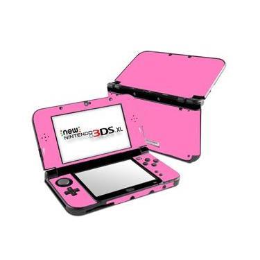Skin Adesivo Protetor New Nintendo 3DS XL (Rosa Claro)
