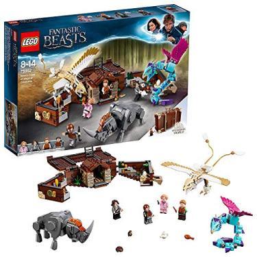 Lego Harry Potter 75952 A Mala De Criaturas Mágicas De Newt