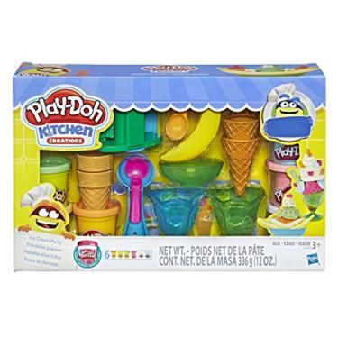 Imagem de Conjunto Massinha Play-Doh Festa do Sorvete Hasbro