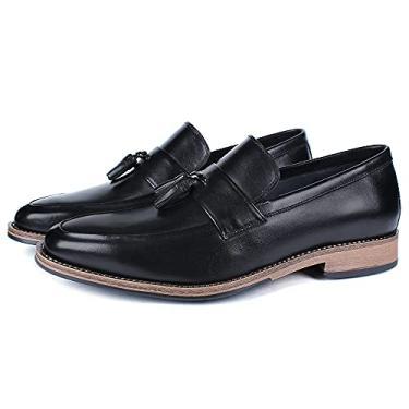 Sapato Masculino Loafer Vulcano em Couro 4352 Preto Savelli (37)