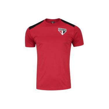 Camiseta do São Paulo Vince - Masculina - Vermelho Preto Xps Sports 2a2946dbeb949