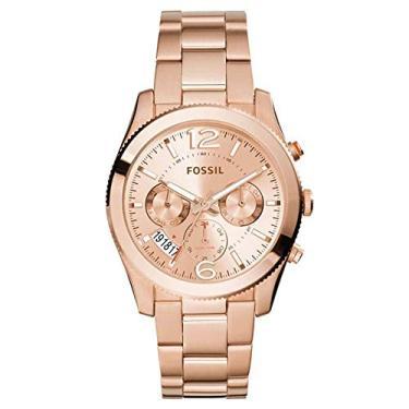 5f675ab06ac Relógio Feminino Fossil Perfect Boyfriend ES3885 4XN Rose