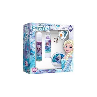 Imagem de Kit De Maquiagem Infantil Frozen Elsa