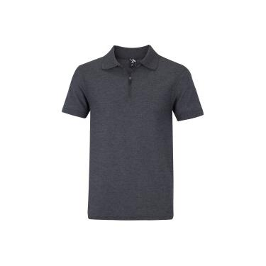 Camisa Polo Oxer Zipper - Masculina Oxer Masculino