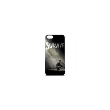 Capa Para Iphone 5c De Plástico - The Walking Dead   Survive
