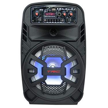 Caixa de Som Amplificada com Bluetooth 100W, TRC 510, Preto, Pequeno