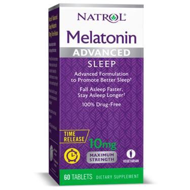 Melatonina Advanced Sleep 10mg - Natrol