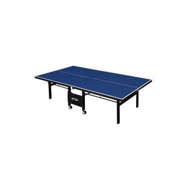 Mesa de Tênis de Mesa Ping Pong Klopf 1084 com Rodízios MDF 18mm Paredão