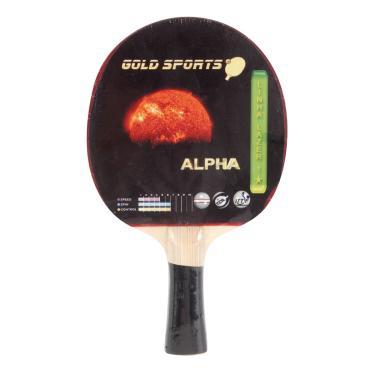Raquete Tenis De Mesa Gold Sports Alpha - Unissex