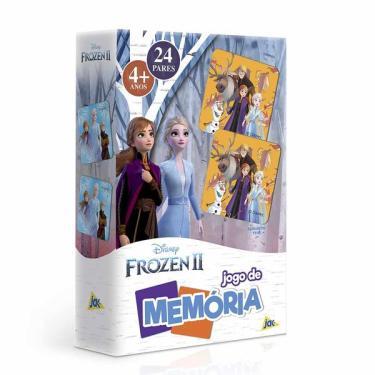 Imagem de Jogo da Memória Jak Frozen com 24 Pares