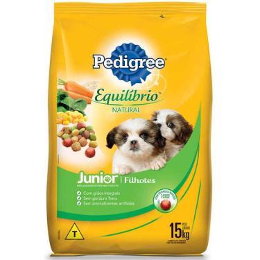 Ração Pedigree Equilíbrio Natural para Cães Filhotes - 15 Kg