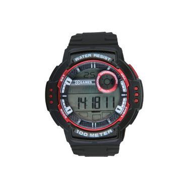 b0563f844d3 Relógio Digital X Games XMPPD502 - Masculino - PRETO VERMELHO X-Games