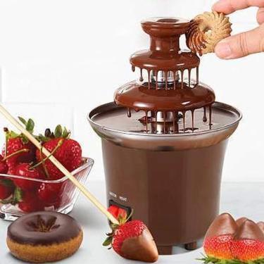 Imagem de Mini Cascata Fonte De Chocolate Panela Fondue Eletrica