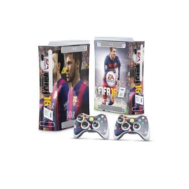 Skin Adesivo para Xbox 360 Fat Arcade - Fifa 16