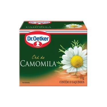 12 Unidades Chá de Camomila 10 sachês - Dr. Oetker