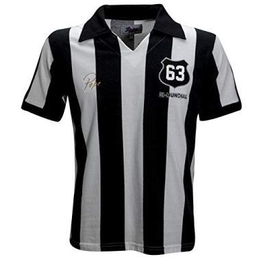 Camisa Liga Retrô Pepe 1963 Listrado, Ex-jogador do Santos e Brasil