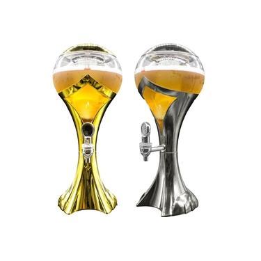 Imagem de Chopeira Torre Chopp Cerveja Gelada Com Led