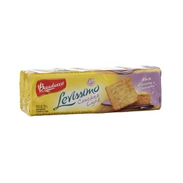 Biscoito cracker light levissimo Bauducco 200g