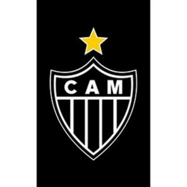 Imagem de Toalha Social Buettner Veludo Atlético Mineiro Preta