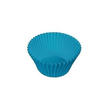 Forma Forneável Cupcake Azul Royal 57 Un Ultrafest