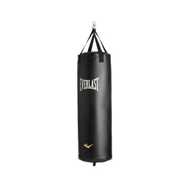 Saco Boxe Pancada Everlast Cheio 35kg - 101x33cm Sh4007wb