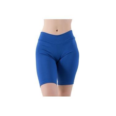 Imagem de Bermuda Feminino Fitness Azul
