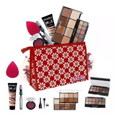 Imagem de Kit De Maquiagem Belle Angel Base Matte Bzkt13